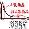 """ロングテールってなに?マーケティング戦略? """"(っ'-')╮ =͟͟͞͞🍣ブォン"""