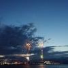 海上運行と花火大会