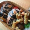 【子供のお弁当】料理は得意ではないけど年1回キャラ弁作ってます(カブトムシ・クワガタ・ミニオンズ)