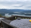 三方五湖レインボーライン・山頂公園をのんびり散策~パノラマ絶景と足湯、テラスでくつろげる癒しの楽園 <福井県・若狭町>