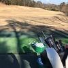 昨日は強風の中のゴルフ練習でした!