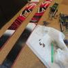 スキー板 補修