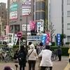 みんなで選挙に大阪(略称ミナセン大阪)が昨日八尾市内で街頭宣