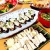 鰻の白焼き!茄子の鮪ディップのせ&南瓜としらすの酒粕味噌焼き