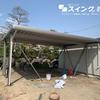 愛知県弥富市 折板ガレージ施工