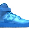 FUSEテクノロジー採用のスペシャル AIR FORCE 1 ! | NIKE AIR FORCE 1 HI HYPERFUSE PREMIUM BLUE GLOW/BLUE GLOW [454433-400]