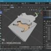Blender 2.8 で 3D モデルを好みの形で切り抜く