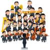 人気の楽器モチーフアクセサリー