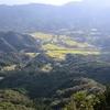 国東半島の付け根にある山からは多彩な地形をみられる 大分県杵築市 津波戸山