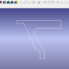 無料のcad(FreeCAD)を使い3Dモデルを描いてみる