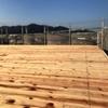 屋根を一新。