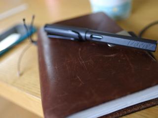 トラベラーズノートに組み合わせている万年筆「ラミー サファリ」をレビュー