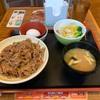 【すき家】『ランチ牛丼中盛セット』の件