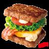 【ファーストキッチン・ウェンディーズ】パティで挟んだハンバーガー!?ワイルドロック!