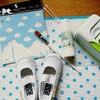 【入園準備】ぶきっちょさんのデコパージュ。上靴編。