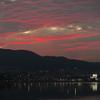 夕焼けには2つのステージがある~琵琶湖の夕景から~