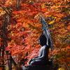 能登平等寺「十三仏」と紅葉(最終回)