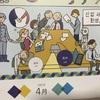 韓国語・英語・日本語・学習カレンダー!!平成31年4月第2週目、3ヶ国語全部一緒に学んじゃおうか?