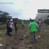 メキシコ北部ドゥランゴ空港近くでアエロメヒコ航空の旅客機が離陸直後に墜落!約80人が負傷したとの目撃情報もあり!!