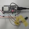 ESP32 (Arduino) でアナログ距離センサー GP2Y0E02A を使う
