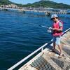 文月の十 / 海釣り