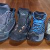 低山用、登山靴のラインナップを見直してみたい