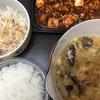 四川風麻婆豆腐!中華な夕飯