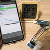 Obnizでスマホ対応の超お手軽IoT温湿度センサを作ってみた