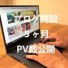 ブログ5ヶ月目のPVを公開。在日中国人のブログ運営でついに単月1万強のアクセス数を獲得!
