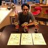 愛魚会品評大会で優等3匹獲得しました