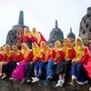 【インドネシア】ボロブドゥールとプランバナン遺跡で驚いた現地学生たちの英語勉強法