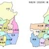 茅ヶ崎市の小学校区の変遷について