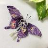 ちりめん細工 紫アゲハ蝶の香袋