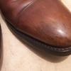 茶色い革靴の黒ずみ汚れの対処法「3つ」【靴磨き職人直伝】