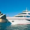 シドニー湾とクルーズ船