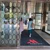 「東京マリオットホテル」デラックスダブル high floor宿泊。ラフォーレ!な庭園があるホテル。