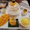 メイク・ミー・マンゴー バンコク三大寺院巡りとセットで!オシャレなカフェで美味しい完熟マンゴーが食べられます。