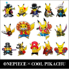 ONEPIECE x COOL PIKACHU ワンピース×イケメンピカ様