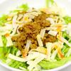 「カレー風味の簡単坦々タコライス」を作る