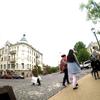 ウクライナ旅行[48]  キエフの観光スポット:ポドル地区・アンドリイフスキイ坂