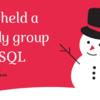 社内SQL勉強会を開催しました