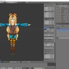 Blenderでユニティちゃんを編集してレンダリング負荷を軽減する