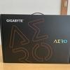 AERO15 OLED 開封レビュー 黒が表示できるノートPC