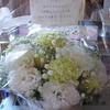 お花ありがとう。。。