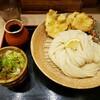 【はし田たい吉 @内幸町 】やわらかい食感が特徴の博多うどんはつるつるしこしこで新食感でした【ざるかしわ天うどん】