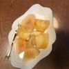 岡山から桃が
