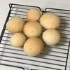 子供の手捏ねパン、チャーハンとニラスープ