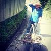 【出】5/16㊌ バイトS、水路清掃。