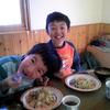 息子達との料理体験