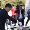 #河野太郎氏#党内左派❕執務室に朝鮮半島の地図❓